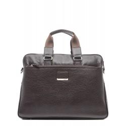 Стильная кожаная мужская сумка 1364